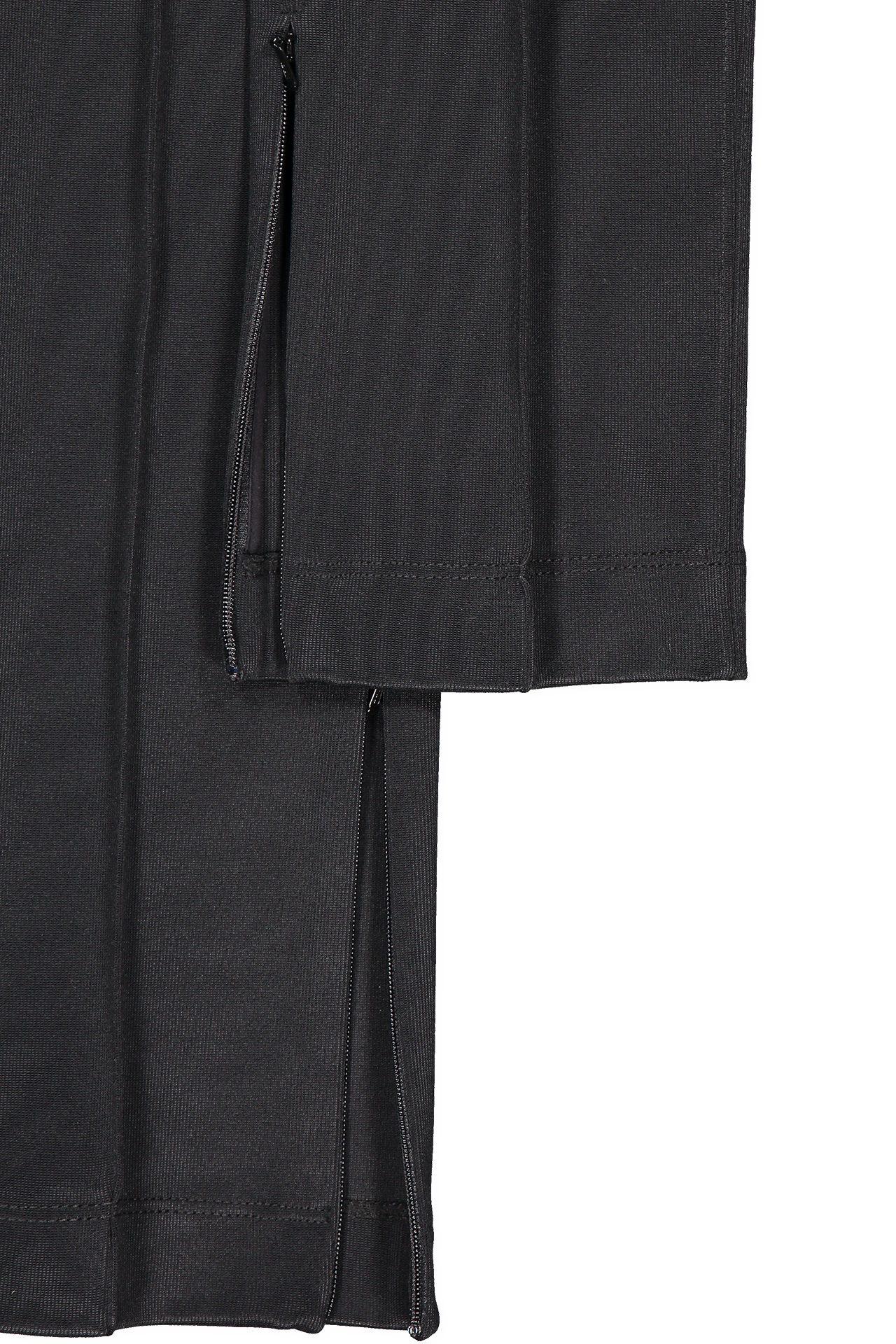 Hemline detail image of Helmut Lang Rib Legging Black
