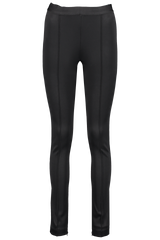 Front detail image of Helmut Lang Rib Legging Black