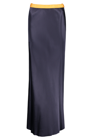Front image of Helmut Lang Satin Slip Skirt