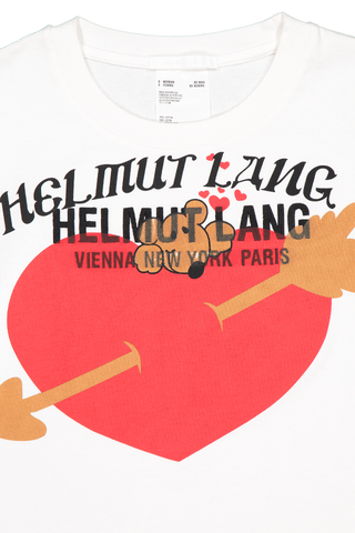 Front collar detail image of Helmut Lang Standard Baby Tee