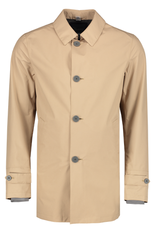 Front view image of Herno Men's Gortex City Trench Camel