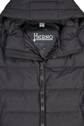 TECHNO TASMANIA PARKA HEATHER BLACK