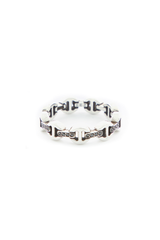 Image of Hoorsenbuhs Dame Trip-Link With Diamond Bridges Ring