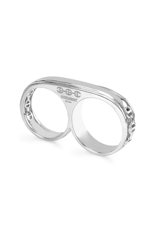 Double Barrel Ring