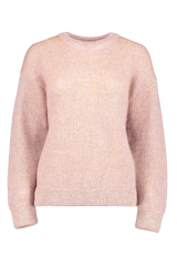 Front Image Of Indress Kid Mohair Large Sweater Beige