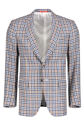 Front image of Isaia Cashier Sciammeria Sportcoat