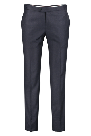 Front view image of Isaia Flannel Confort Trouser with Sidetabs