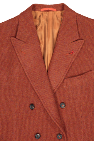 JERSEY SPORTCOAT SOLID RUST