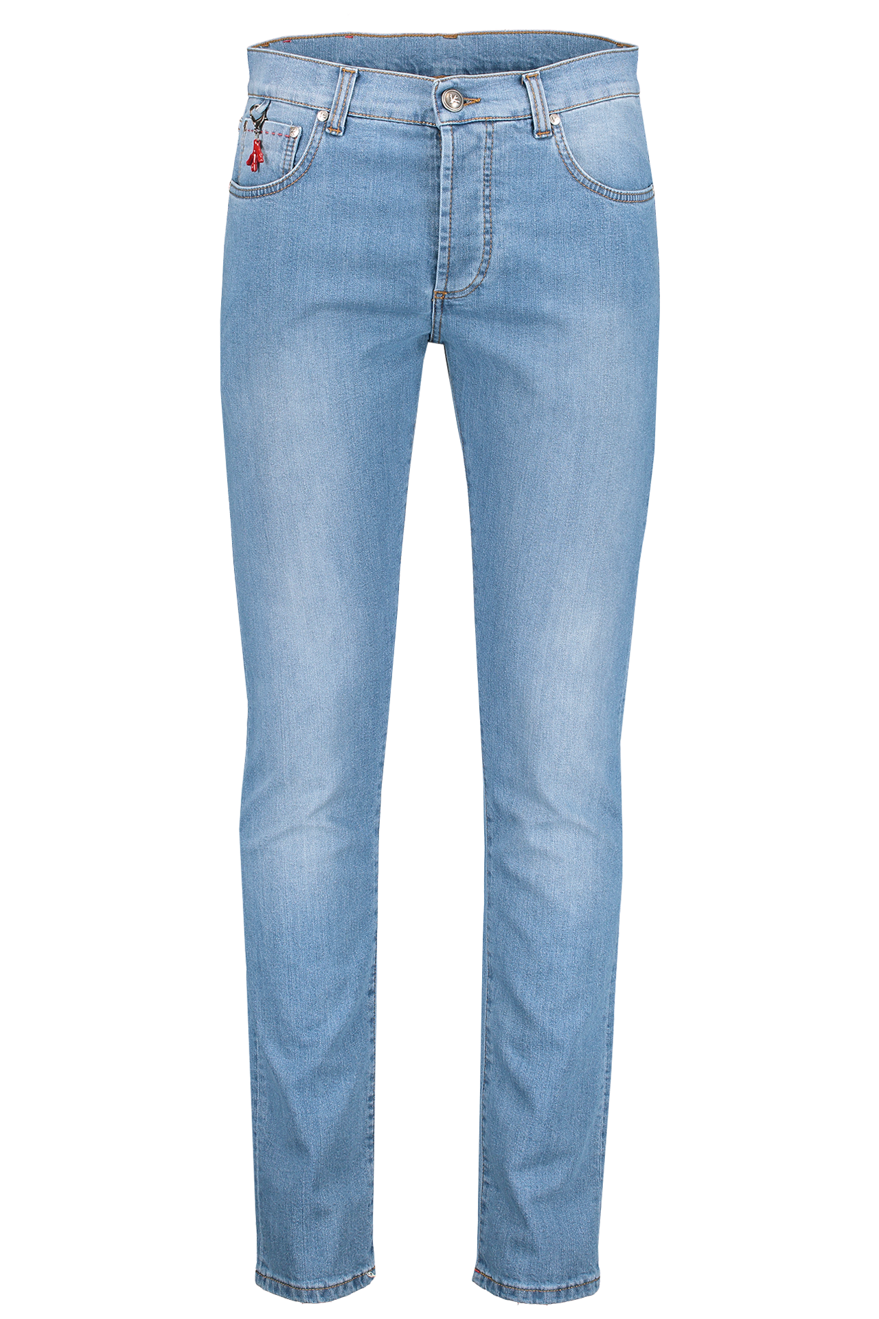 Front Image Light Wash Denim