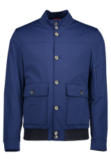 Scuba Bomber Jacket Blue