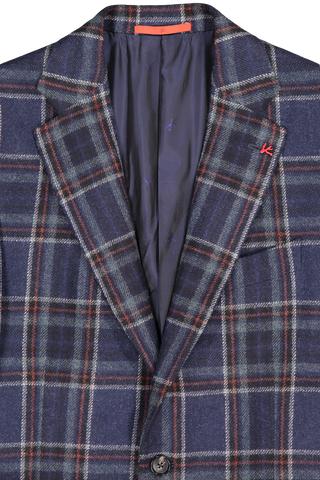 Isaia Lapel Detail Super Geelong Wool Sportcoat