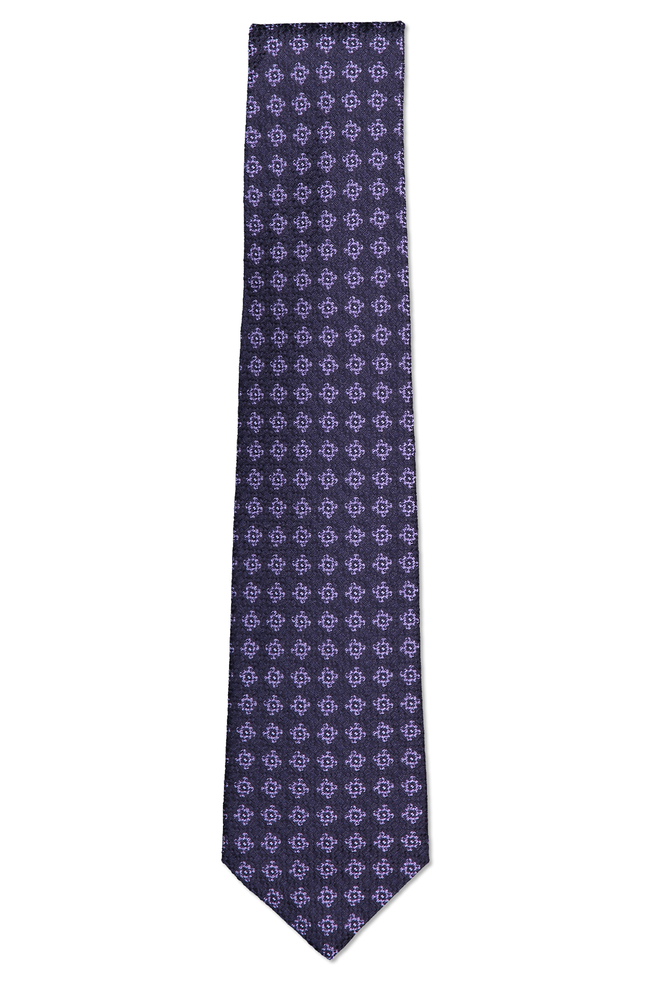 Tie Purple Pattern