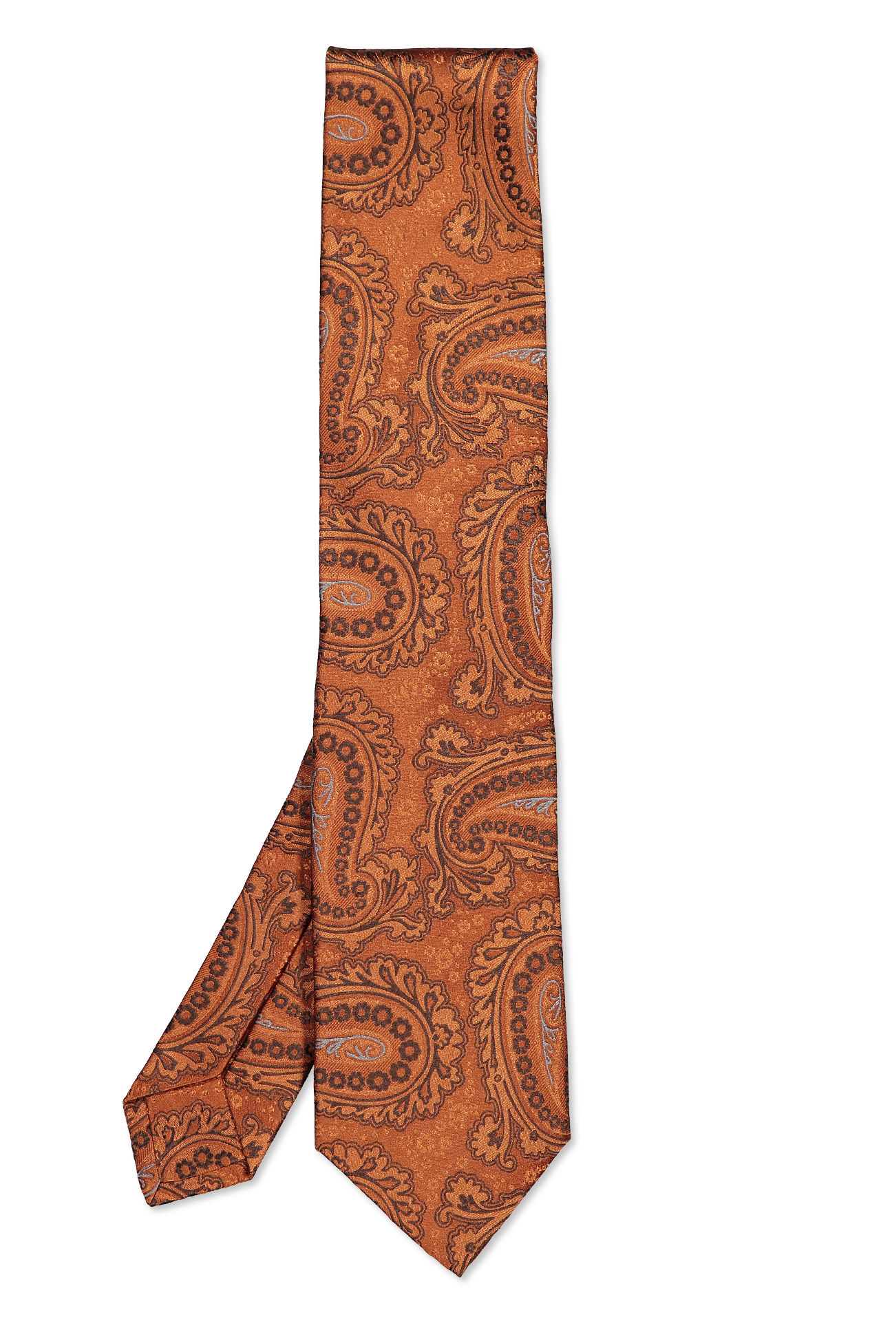 Isaia Tie Orange