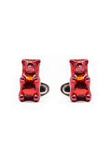 Red Gummy Bear Cufflinks