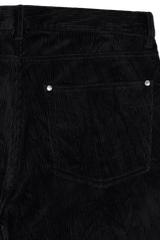 Back pocket detail image of John Varvatos Men's Motor City Jean with Zip Fly Black