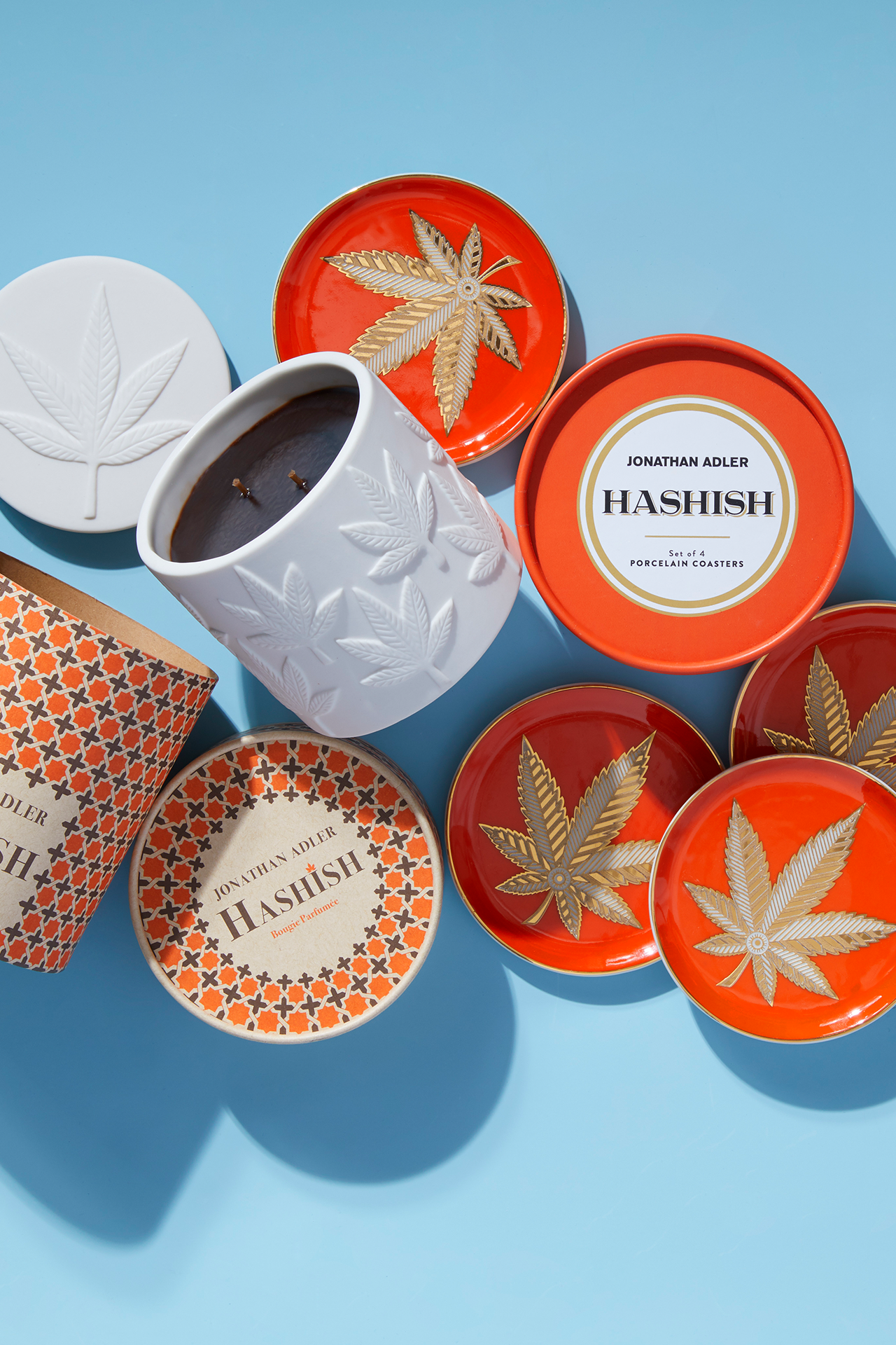 Second Lifestyle Image with Hashish Coasters