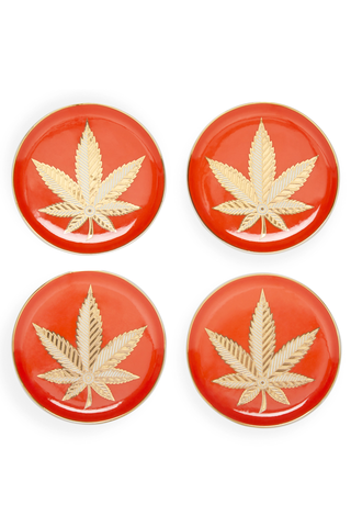 Set of Four Hashish Coasters