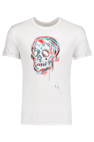 Front Image of JV Star USA Color Skull T-Shirt