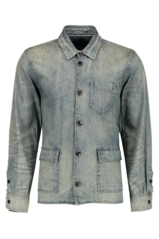 Front Image Darren Star Sport Worker Shirt  - Les Day Wash