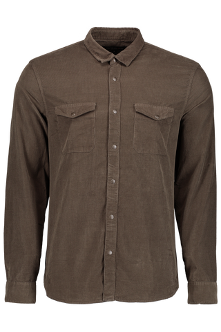 LS WOVEN DOUBLE POCKET OLIVE BRANCH