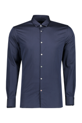 Front view image of JV Star USA Men's Ross Bluff Edge Sport Shirt Navy