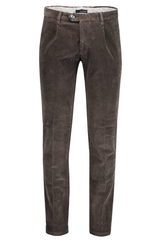 Andrew Cord Trouser Charcoal