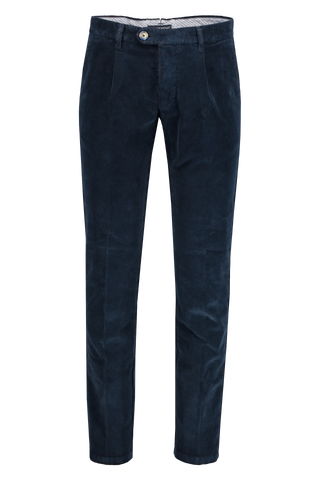 Front Image of J.W. Brine ANDREW CORD TROUSER NAVY