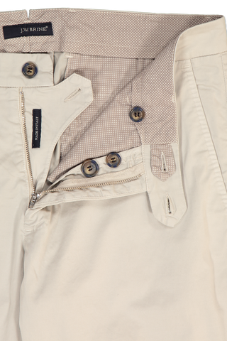 Zipper and Button Detail James 18 Cotton Mix Chino