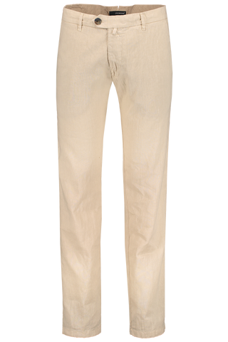 Front Image JW Brine James 18 Linen Mix Chino