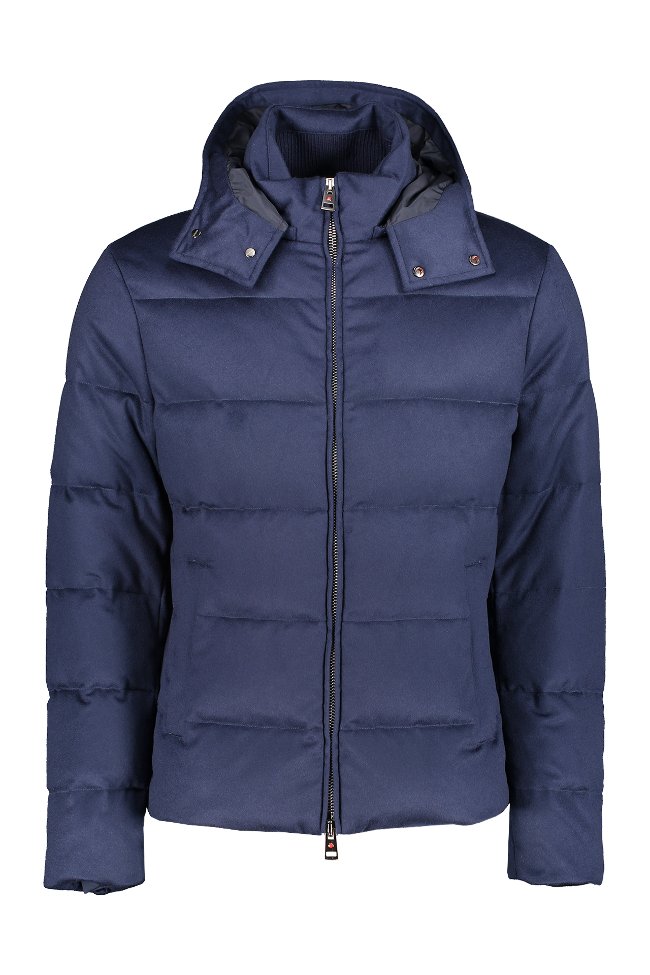 Front view of Kired Bulnes Down Jacket Blue