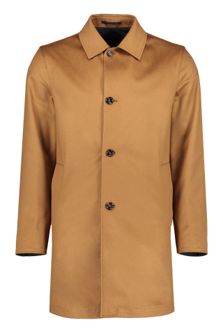 Kired Front Image Peak Reversible Trench Coat