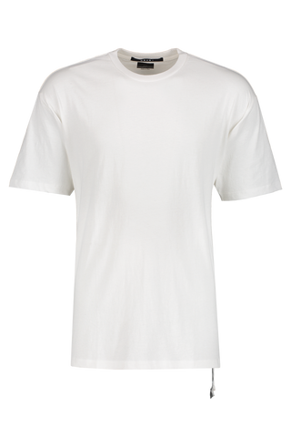 Front image of KSUBI Biggie Short Sleeve T-Shirt White