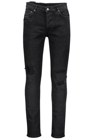 STK CHITCH BONEYARD JEAN BLACK