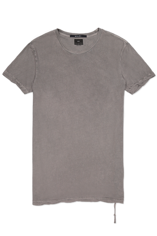 Short Sleeve Seeing Lines Tee Vintage Grey