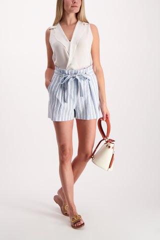 Full Body Image Of Model Wearing Alex Paperbag Short