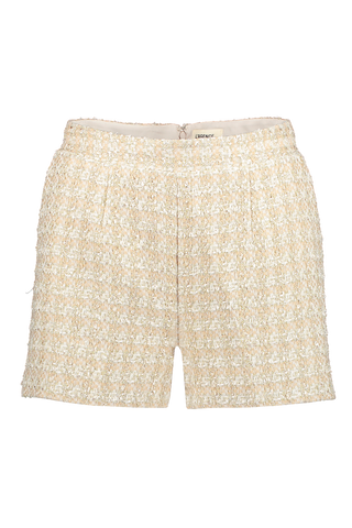 Ashton Tweed Short Rose Gold