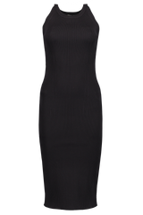 L'AGENCE Front Image Aveline Knit Halter Dress