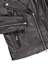 Cuff And Hem Image Of L'agnece biker jacket