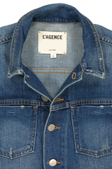 CELINE DENIM JKT AUTHENIQUE DISTRESSED