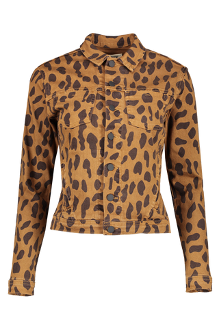 Celine Spot Animal Print Jacket