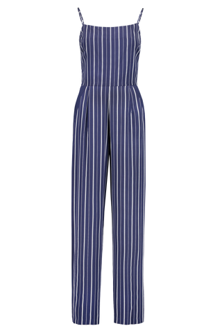 Front Image Of L'agence Finley Button Leg Jumpsuit