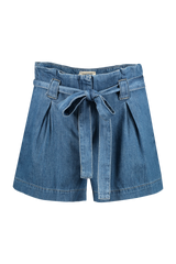 Hillary Paperbag Shorts Concord