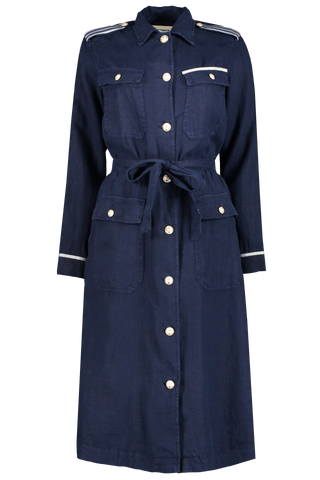 Kinsley Long Coat Navy