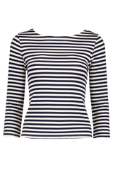 Front Image Lucy Boat Neck Shirt