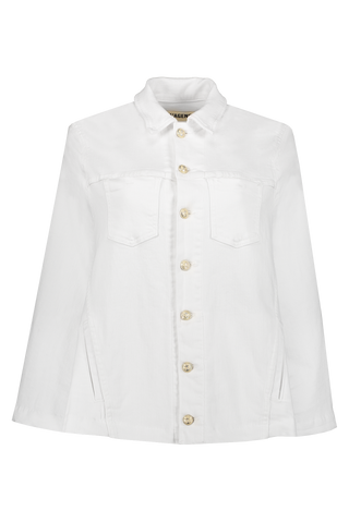 Madison Cape Jacket Blanca