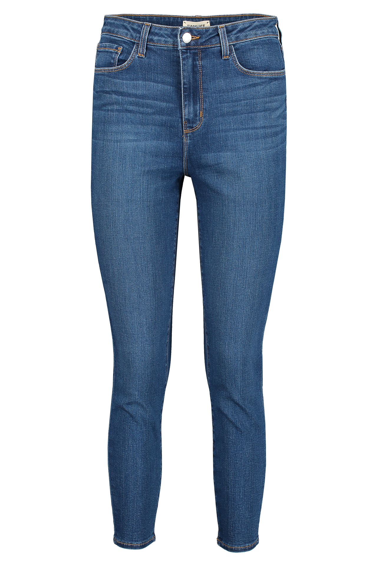 Front view image of L'AGENCE Margot High Rise Skinny Laguna