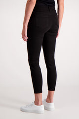 STK MARGOT HIGH RISE SKINNY NOIR