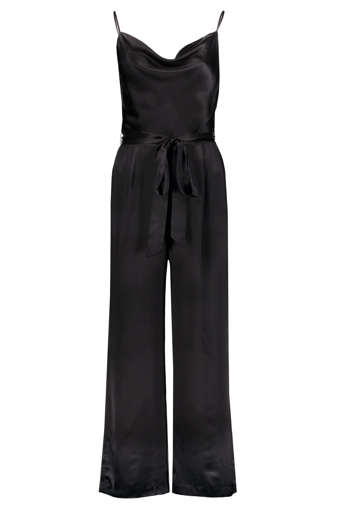 Full Length Front Image Rannah Cowl Jumpsuit