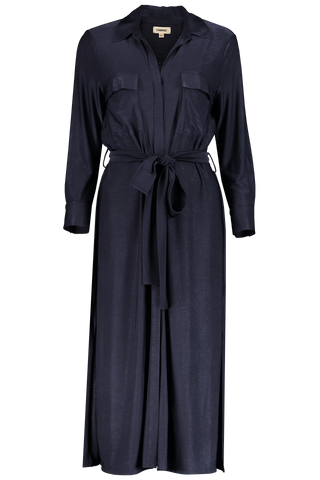 Rivi Long Shirt Dress Indigo