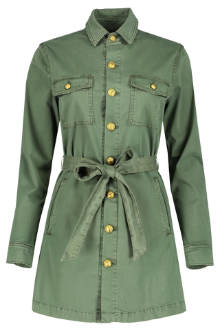 Samantha Safari Jacket Clover